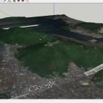 SketchUp 2015:スケッチアップで配置したグーグルアースの衛星写真画像の保存場所