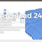 ARCHICAD 24 日本語版がリリース。23からの作業画面の変わり具合を確認してみた。
