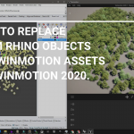 How to replace Rhino objects to Twinmotion assets in Twinmotion 2020