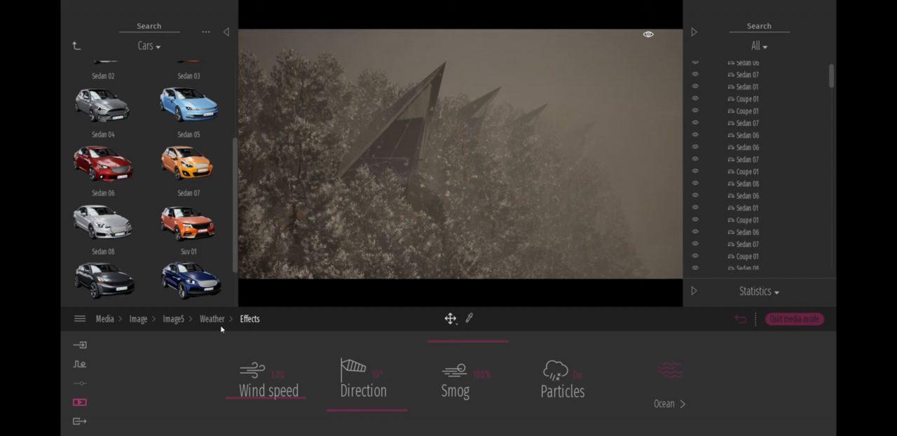 雪の表現もリアルに。  - Twinmotion 2020 Previewより
