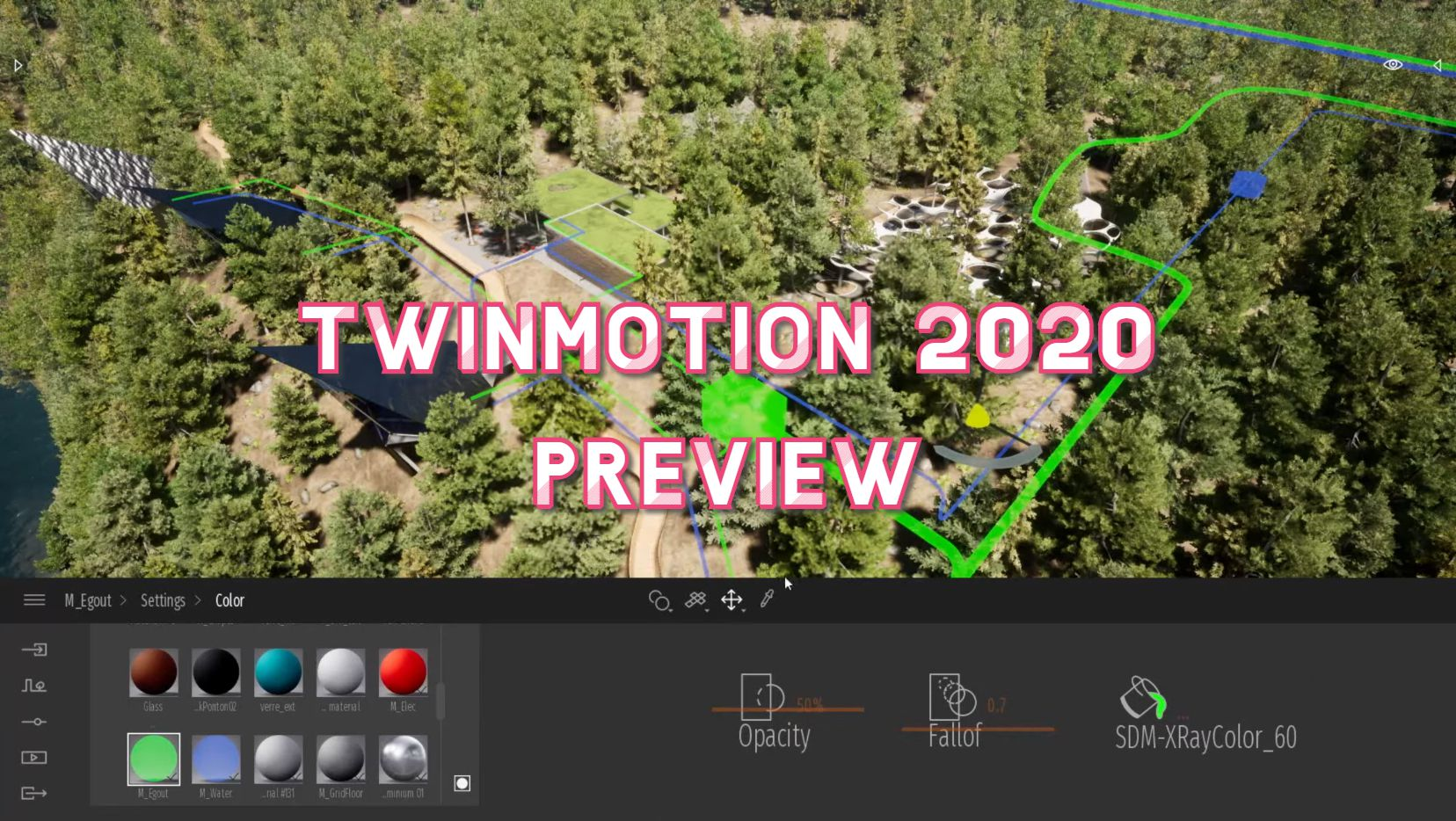 Twinmotion 2020 preview