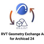ARCHICAD-Revitファイル(RVT・RFA)の変換(インポート・エクスポート)用アドオンがついに出た!!【ARCHICAD 24】